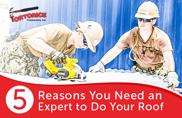 The Importance of Letting a Mount Laurel Township Roofing Contractor Do Your Roof